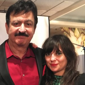 L-R: George Noory (Coast To Coast AM) and Bonnie Bloomgarden (TM1)